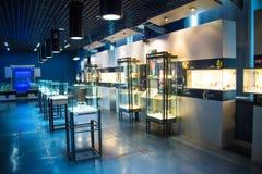 Ασία Κίνα, Πεκίνο, γεωλογικό μουσείο, εσωτερική αίθουσα έκθεσης Στοκ Εικόνες
