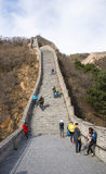 Ασία Κίνα, Πεκίνο, ιστορικά κτήρια, που το Σινικό Τείχος Στοκ Εικόνα