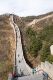 Ασία Κίνα, Πεκίνο, ιστορικά κτήρια, που το Σινικό Τείχος Στοκ Εικόνες