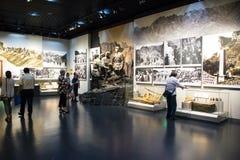 Ασία Κίνα, Πεκίνο, μουσείο του πολέμου της αντίστασης λαών ενάντια στην ιαπωνική έκθεση ŒIndoor Aggressionï ¼ Στοκ Εικόνα