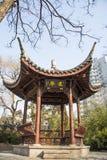 Ασία Κίνα, Πεκίνο, πάρκο Zizhuyuan, αρχιτεκτονική τοπίων, περίπτερο, Στοκ Εικόνα