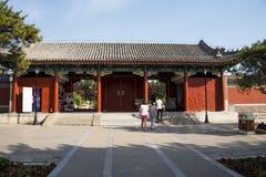 Ασία Κίνα, Πεκίνο, παλαιό θερινό παλάτι, αρχιτεκτονική τοπίων Στοκ εικόνες με δικαίωμα ελεύθερης χρήσης