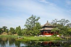 Ασία Κίνα, Πεκίνο, παλαιό θερινό παλάτι, αρχιτεκτονική τοπίων Στοκ εικόνα με δικαίωμα ελεύθερης χρήσης