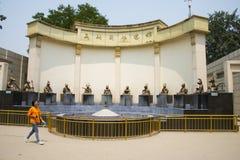 Ασία Κίνα, Πεκίνο, παλαιό θερινό παλάτι, Ασία Κίνα, Πεκίνο, παλαιό θερινό παλάτι, αίθουσα έκθεσης Στοκ Εικόνες