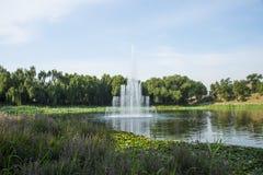 Ασία Κίνα, Πεκίνο, παλαιό θερινό παλάτι, τοπίο κήπων, πηγή Στοκ φωτογραφίες με δικαίωμα ελεύθερης χρήσης