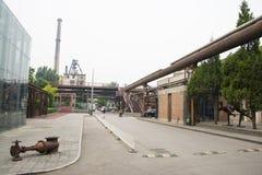Ασία Κίνα, Πεκίνο, σχέδιο Plaza 751 μόδας Στοκ Εικόνες