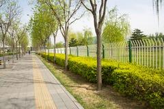 Ασία Κίνα, Πεκίνο, σύγχρονα κτήρια, φραγμοί πόλεων Στοκ εικόνα με δικαίωμα ελεύθερης χρήσης