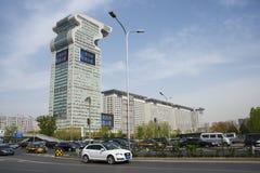 Ασία Κίνα, Πεκίνο, σύγχρονα κτήρια, Pangu Plaza Στοκ Εικόνα