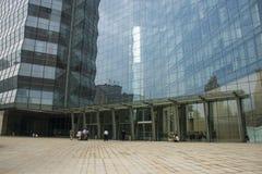 Ασία Κίνα, Πεκίνο, σύγχρονη αρχιτεκτονική, νέο πολυ Plaza Στοκ εικόνα με δικαίωμα ελεύθερης χρήσης