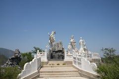 Ασία Κίνα, Πεκίνο, φυσική περιοχή βουνών πινάκων, γλυπτό τοπίων, νεράιδα Στοκ εικόνες με δικαίωμα ελεύθερης χρήσης