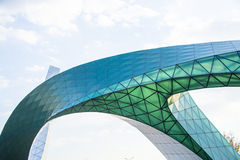 Ασία κινέζικα, Πεκίνο, κήπος EXPO, αρχιτεκτονική τοπίων Στοκ εικόνες με δικαίωμα ελεύθερης χρήσης