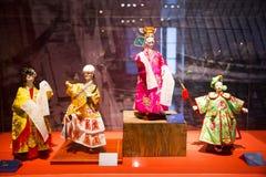 Ασία κινέζικα, Πεκίνο, κινεζικό Μουσείο Τέχνης, εσωτερική κινεζική όπερα ¼ Œ puppetï ¼ ŒTraditional charactersï ¼ Œ έκθεσης hallï Στοκ φωτογραφία με δικαίωμα ελεύθερης χρήσης