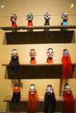 Ασία κινέζικα, Πεκίνο, κινεζικό Μουσείο Τέχνης, εσωτερική κινεζική όπερα ¼ Œ puppetï ¼ ŒTraditional charactersï ¼ Œ έκθεσης hallï Στοκ Εικόνες