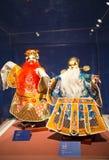 Ασία κινέζικα, Πεκίνο, κινεζικό Μουσείο Τέχνης, εσωτερική κινεζική όπερα ¼ Œ puppetï ¼ ŒTraditional charactersï ¼ Œ έκθεσης hallï Στοκ φωτογραφίες με δικαίωμα ελεύθερης χρήσης