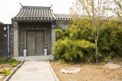 Ασία κινέζικα, Πεκίνο, παλαιό κτήριο, πύλη Στοκ φωτογραφία με δικαίωμα ελεύθερης χρήσης