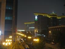 Ασία, Πεκίνο, ένας-άτομα Tian λεωφόρων Στοκ Εικόνες