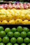 ασβέστες λεμονιών μήλων Στοκ φωτογραφίες με δικαίωμα ελεύθερης χρήσης