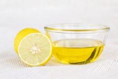 Ασβέστης και μέλι λεμονιών Στοκ Φωτογραφίες