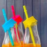 Ασβέστης σε σχέση με με τα ποτά και άλλα φρούτα στοκ εικόνα με δικαίωμα ελεύθερης χρήσης