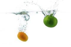 Ασβέστης-Lemon2 Στοκ Εικόνες