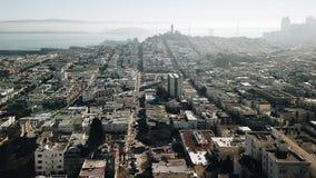 Ασβέστιο ΗΠΑ Scape πόλεων Bay Area του Σαν Φρανσίσκο Στοκ φωτογραφίες με δικαίωμα ελεύθερης χρήσης
