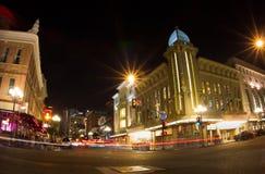 Ασβέστιο του Σαν Ντιέγκο τετάρτων Gaslamp Στοκ Εικόνες