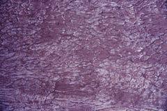 Ασβεστοκονίαμα, που χρωματίζεται τραχύ με το χρώμα Ένα burgundy χρώμα Στοκ Εικόνα