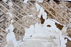 Ασβεστοκονίαμα στον τοίχο Στοκ εικόνα με δικαίωμα ελεύθερης χρήσης