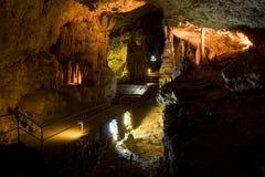 ασβεστόλιθος σπηλιών Στοκ Φωτογραφία