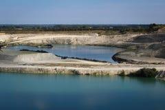 Ασβεστόλιθος quarry Στοκ Εικόνα