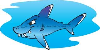 ασημένια άκρη καρχαριών διανυσματική απεικόνιση