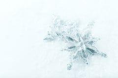 Ασημένια αστέρια Χριστουγέννων Στοκ Φωτογραφίες