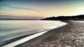 Ασημένια λιμνοθάλασσα Στοκ εικόνα με δικαίωμα ελεύθερης χρήσης