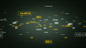Ασημένια καταδίωξη ποσοστών και τιμών απεικόνιση αποθεμάτων