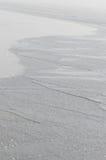 Ασημένια κύματα ακτών Στοκ Εικόνα