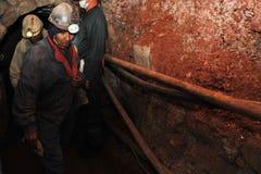 Ασημένια παραγωγή στο ορυχείο στοκ εικόνες με δικαίωμα ελεύθερης χρήσης