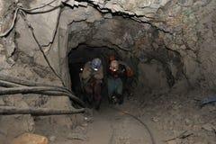 Ασημένια παραγωγή στο ορυχείο στοκ φωτογραφία με δικαίωμα ελεύθερης χρήσης