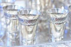Ασημένια goblets στοκ φωτογραφία με δικαίωμα ελεύθερης χρήσης