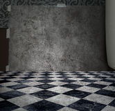 ασημένιος τοίχος μυστηρί&omi στοκ εικόνες με δικαίωμα ελεύθερης χρήσης