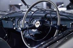 Ασημένιος τύπος 235 Delahaye του 1951 καμπριολέ μετατρέψιμο Στοκ εικόνα με δικαίωμα ελεύθερης χρήσης