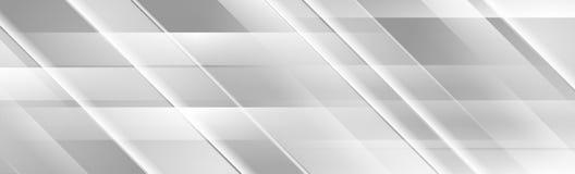Ασημένιο γκρίζο γεωμετρικό αφηρημένο σχέδιο εμβλημάτων τεχνολογίας απεικόνιση αποθεμάτων