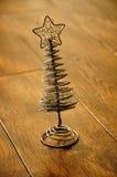 ασημένιο δέντρο αστεριών π&alph Στοκ Εικόνα