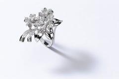 Ασημένιο δαχτυλίδι Στοκ φωτογραφία με δικαίωμα ελεύθερης χρήσης