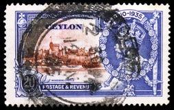 Ασημένιο ιωβηλαίο, serie, circa 1935 στοκ εικόνα