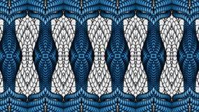 Ασημένιο και μπλε αφηρημένο υπόβαθρο για το σχέδιο των κλωστοϋφαντουργικών προϊόντων, Στοκ Εικόνα