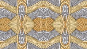 Ασημένιο και χρυσό αφηρημένο υπόβαθρο για το σχέδιο των κλωστοϋφαντουργικών προϊόντων, Στοκ φωτογραφία με δικαίωμα ελεύθερης χρήσης