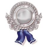 Ασημένιο μετάλλιο Στοκ εικόνες με δικαίωμα ελεύθερης χρήσης