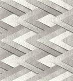 Ασημένιο μεταλλικό άνευ ραφής σχέδιο Στοκ Φωτογραφίες