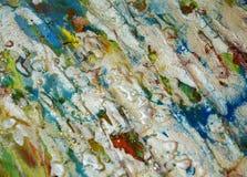 Ασημένιο πράσινο μπλε λαμπιρίζοντας λασπώδες υπόβαθρο, λαμπιρίζοντας λασπώδες κέρινο χρώμα, υπόβαθρο μορφών αντίθεσης στα χρώματα Στοκ εικόνα με δικαίωμα ελεύθερης χρήσης