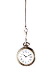 ασημένιο ρολόι τσεπών Στοκ Φωτογραφία
